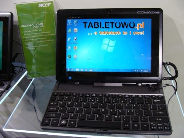 Tabletowo.pl Acer Iconia Tab W500. Podłącz klawiaturę i używaj jak netbooka (wideo) Nowości