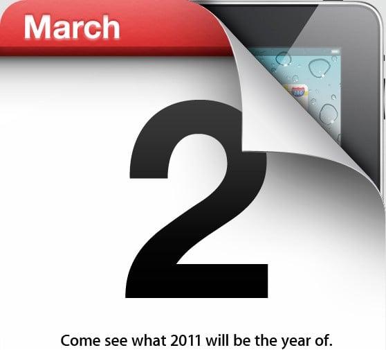Tabletowo.pl Premiera iPada 2 wyznaczona na 2 marca - już oficjalnie! Apple Nowości