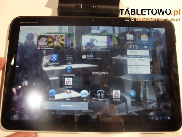 Tabletowo.pl Xoom - tablet od Motoroli bez żadnych blokad Ciekawostki Motorola Nowości Plotki / Przecieki