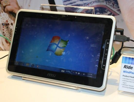 Tabletowo.pl MSI WindPad 110W z baterią pracującą 3 godziny. Premiera na CeBit Nowości Plotki / Przecieki