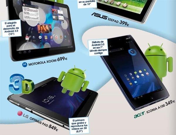 Tabletowo.pl Europejskie ceny Motoroli Xoom, LG Optimus Pad, Acera Iconia A100 i Asusa Eee Pad Nowości