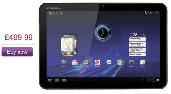 Tabletowo.pl Motorola Xoom w Europie już 9 kwietnia? Motorola Nowości