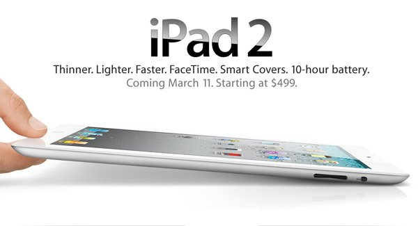 Apple iPad 2 oficjalnie! (wideo)
