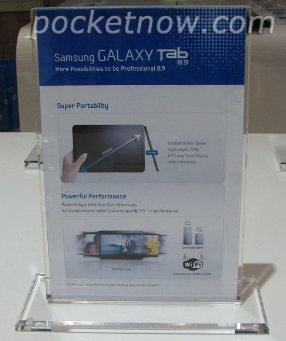 Tabletowo.pl Samsung Galaxy Tab 8.9 - czego możemy się spodziewać? Nowości Plotki / Przecieki Samsung