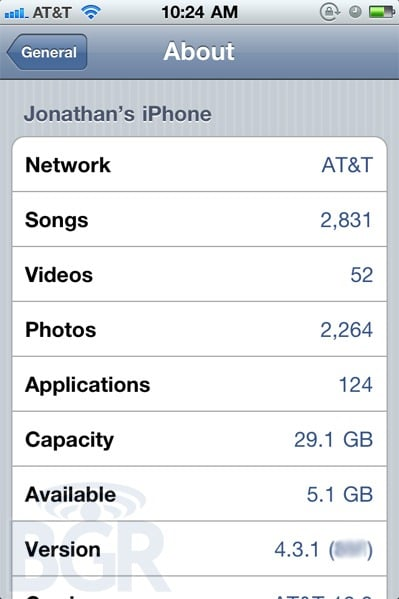 Tabletowo.pl iOS 4.3.1 szybciej niż się spodziewano. Poprawi żywotność baterii? Apple Nowości Plotki / Przecieki