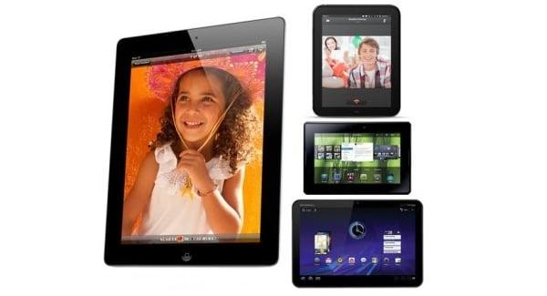 Tabletowo.pl Porównanie: iPad 2 vs Xoom vs TouchPad vs PlayBook Apple Nowości Porównania