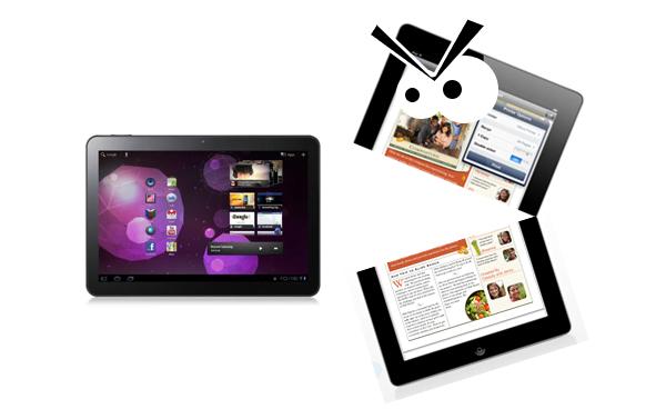 Tabletowo.pl Galaxy Tab 10.1 nie może konkurować z iPadem 2? Samsung (może) obniży cenę tabletu Apple Plotki / Przecieki Samsung