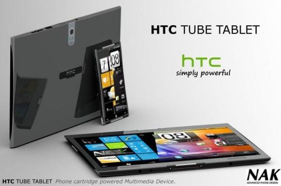 Tabletowo.pl HTC Tube. Intrygująca koncepcja tabletu idealnego Ciekawostki Koncepcje Nowości