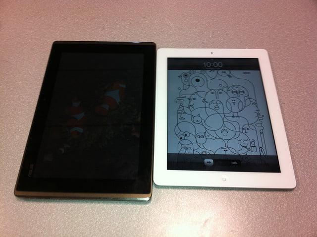 Tabletowo.pl Starcie tytanów: Apple iPad 2 vs Asus Eee Pad Transformer (wideo) Apple Nowości Porównania