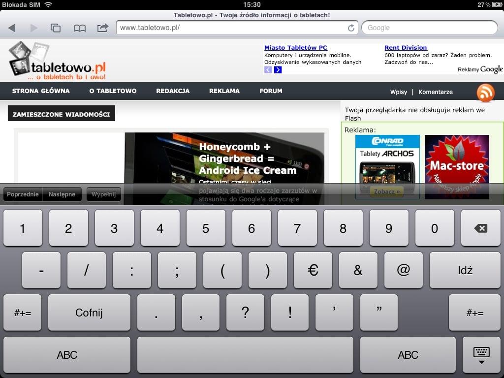 Recenzja Apple iPada 2. Umarł król (iPad), niech żyje król (iPad 2)? 33