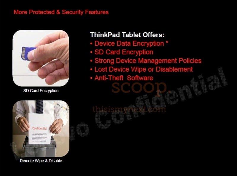 Tabletowo.pl Lenovo ThinkPad Tablet (ThinkPad Slate) z ciekawą specyfikacją Nowości Plotki / Przecieki