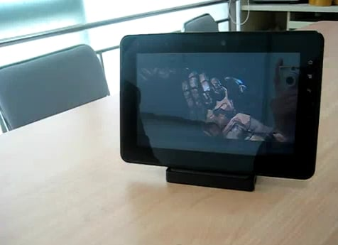 Tabletowo.pl Najcieńszy tablet: OGT Mobile - 7 mm grubości (wideo) Nowości Plotki / Przecieki