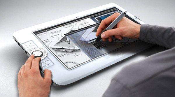 """Tabletowo.pl M Pad. Ciekawy projekt tabletu z ekranem 15,6"""" Koncepcje Nowości"""
