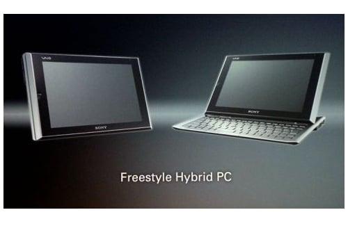 Tabletowo.pl Sony Freestyle Hybrid PC. Tablet z wysuwaną klawiaturą Nowości