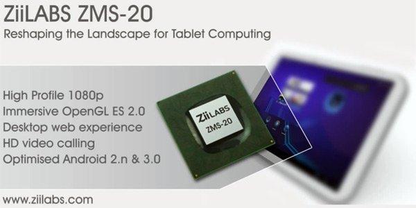 ZiiLABS prezentuje dwu- i czterordzeniowe procesory dla tabletów z Androidem Honeycomb 32