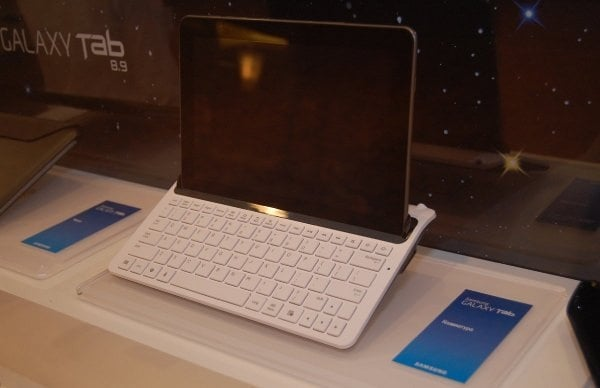 Tabletowo.pl Samsung Galaxy Tab 8.9 z wygodną klawiaturą (wideo) Nowości Samsung