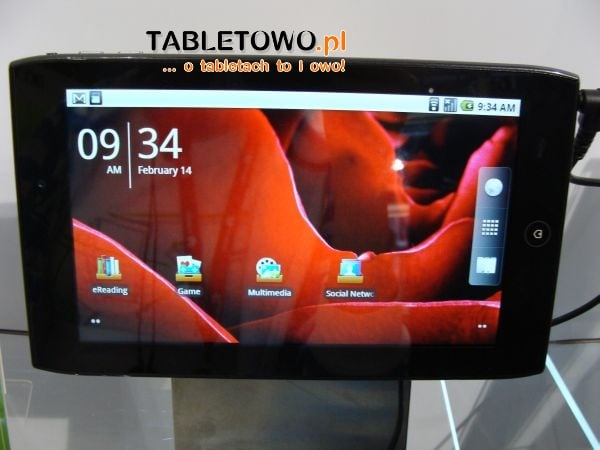 Tabletowo.pl Acer Iconia Tab A100 już 14 maja w Wielkiej Brytanii Nowości
