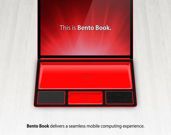Tabletowo.pl Niesamowita koncepcja Bento Book: laptop złożony ze smartfona i tabletu Ciekawostki Koncepcje Nowości