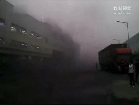 Tabletowo.pl Eksplozja w chińskiej fabryce produkującej iPady 2 (wideo) Apple Ciekawostki Nowości