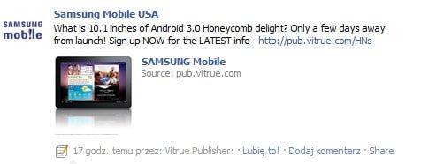 Tabletowo.pl Samsung Galaxy Tab 10.1 już za kilka dni, Android 3.1 - obecny! Nowości Samsung