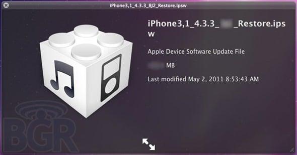 Tabletowo.pl iOS 4.3.3 już za dwa tygodnie - naprawi baterię! (aktualizacja) Apple Nowości