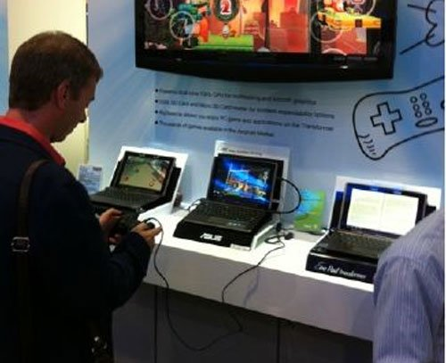 Tabletowo.pl Asus Eee Pad Transformer z obsługą kontrolerów PS3 i Xbox 360 Ciekawostki Nowości