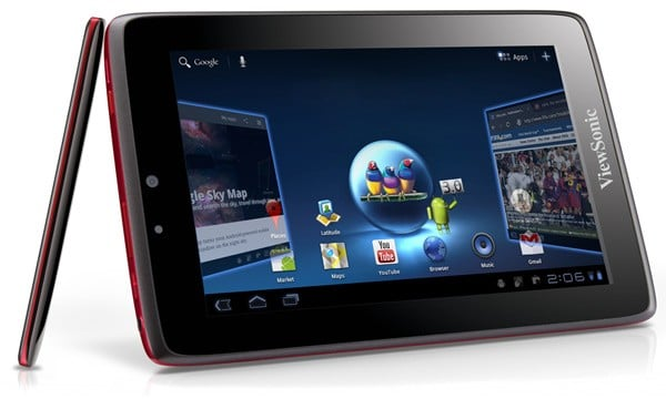 "Tabletowo.pl ViewSonic ViewPad 7x: 7"" z Androidem Honeycomb (update) Nowości"