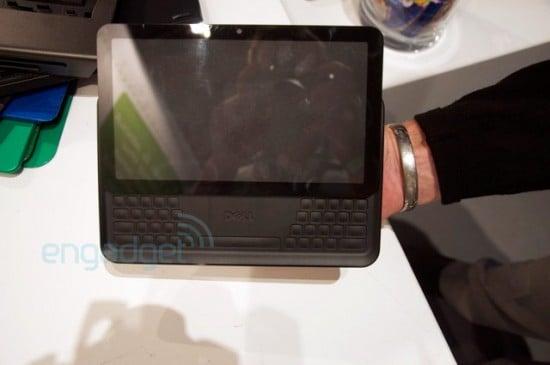Tabletowo.pl Prototyp tabletu Della z nietypową klawiaturą Nowości Plotki / Przecieki