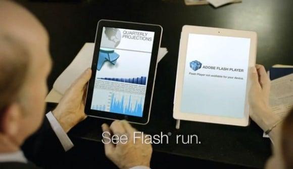 Tabletowo.pl Samsung: GT10.1 obsługuje Flash, w przeciwieństwie do iPada 2... To się już robi nudne Nowości Samsung