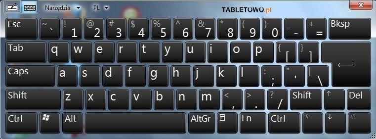 Tabletowo.pl Recenzja ICom TerraPad 1050. Tablet z Windows 7 Nowości Recenzje