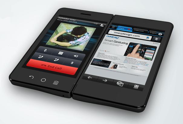 Tabletowo.pl Kieszonkowy, składany tablet... a może smartfon z dwoma ekranami Ciekawostki Nowości