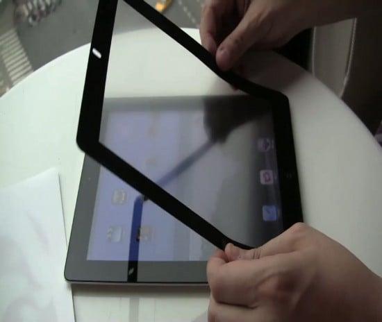 Tabletowo.pl Folia Moshi iVisor AG eliminuje odbicia światła z ekranu iPada 2 Akcesoria Apple Ciekawostki Nowości