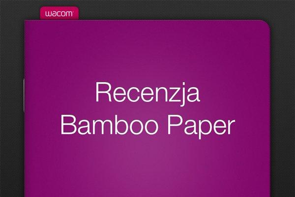 Recenzja aplikacji Bamboo Paper 23