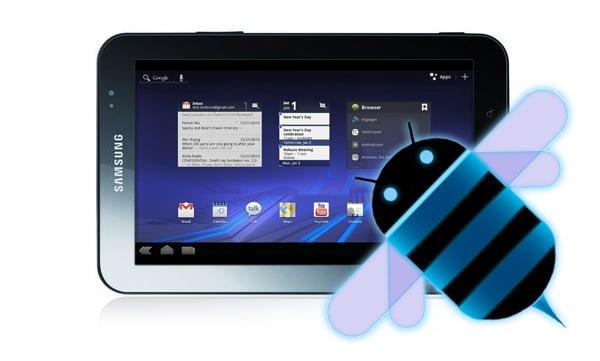 """Tabletowo.pl Android Honeycomb na Samsungu Galaxy Tab (7"""") Ciekawostki Nowości Samsung"""