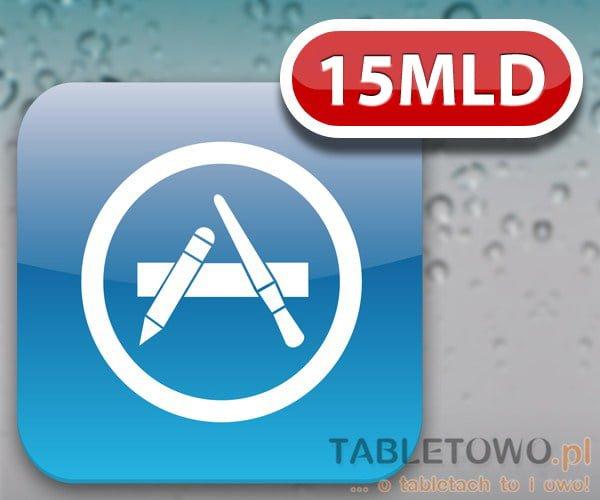 Tabletowo.pl Ponad 15 miliardów pobrań ze sklepu Apple AppStore Aplikacje Apple Ciekawostki Nowości