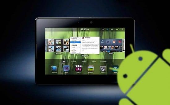 Tabletowo.pl Android App Player dla tabletu BlackBerry Playbooka już jest Ciekawostki Nowości