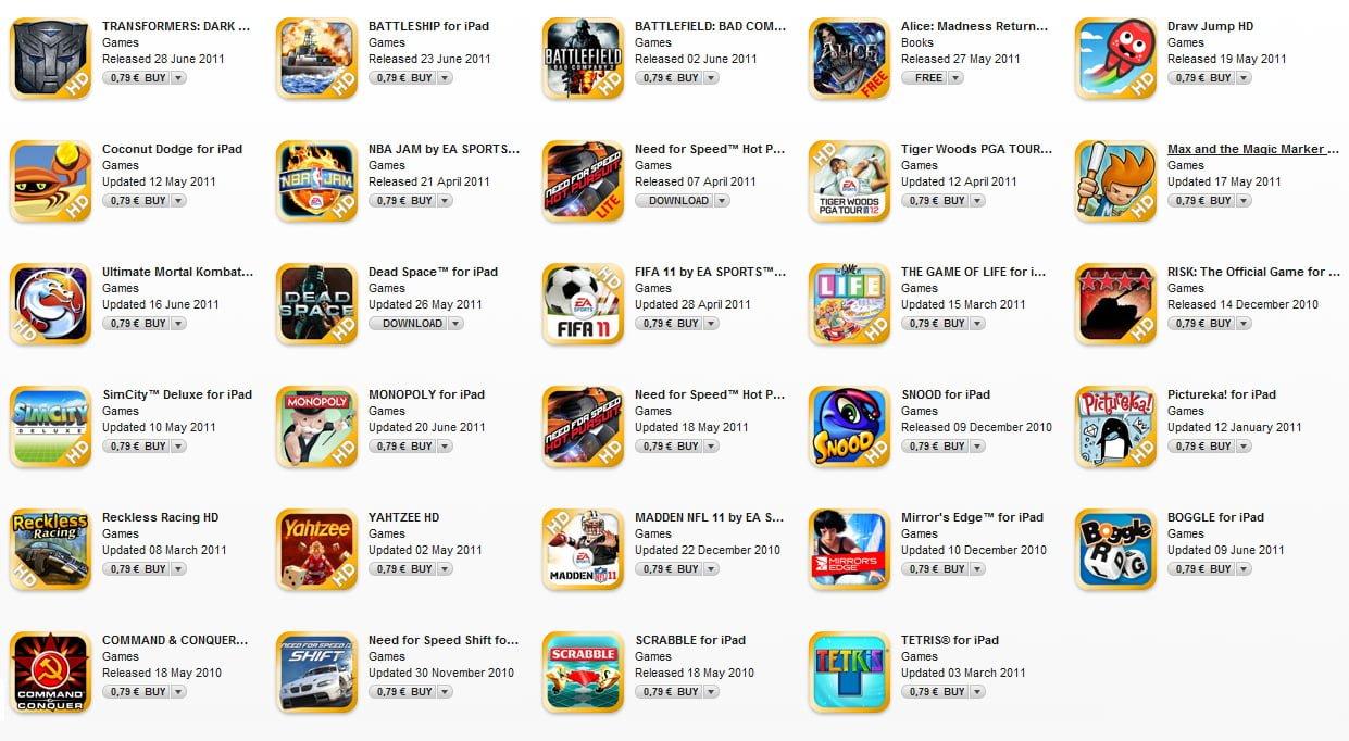 Tabletowo.pl Wielka wyprzedaż gier EA Mobile i Gameloft w AppStore! Aplikacje Apple