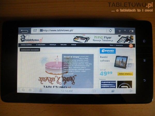 Tabletowo.pl Jaka będzie cena Huawei Ideos S7 Slim w Polsce? Nowości