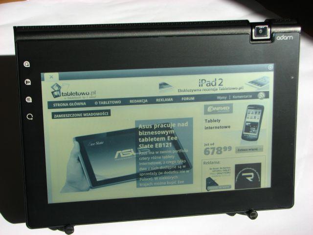 Tabletowo.pl Notion Ink Adam 2 - premiera na CES 2012. Czego możemy się spodziewać? Nowości Plotki / Przecieki