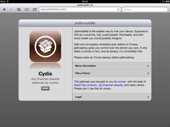 Tabletowo.pl Jailbreak dla iPada 2 już możliwy Apple Ciekawostki Nowości