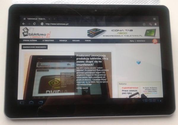Tabletowo.pl Samsung Galaxy Tab 10.1 powoli zmierza do Polski Nowości Samsung