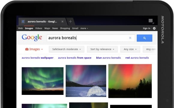 Tabletowo.pl Google przystosowuje swoją wyszukiwarkę do tabletów Ciekawostki Nowości