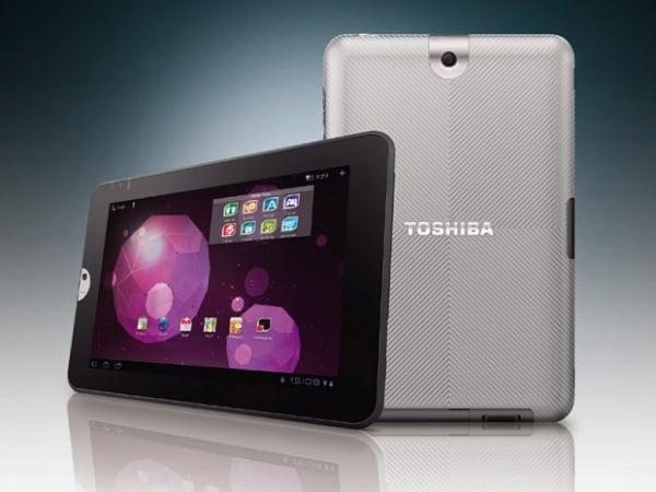 Tabletowo.pl Multimedialny tablet Toshiby już wkrótce w Polsce Nowości Toshiba