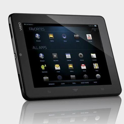 Tabletowo.pl 8-calowy tablet Vizio w przedsprzedaży Nowości