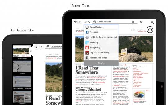 Tabletowo.pl Firefox na tablety z Androidem - wersja testowa do pobrania Nowości