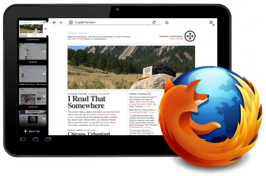 Tabletowo.pl Nadchodzi Firefox na Androida Honeycomb Aplikacje Ciekawostki Nowości
