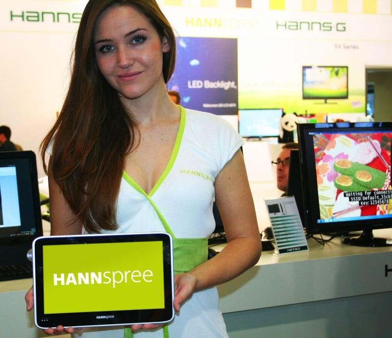 Tabletowo.pl Hannspree zaprezentuje dwa nowe tablety na IFA 2011 Nowości