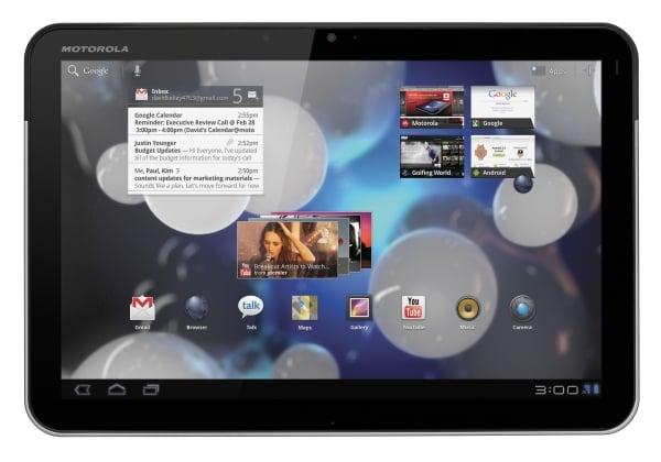 Tabletowo.pl Android 3.1 dla Motoroli Xoom - wreszcie jest Motorola Nowości