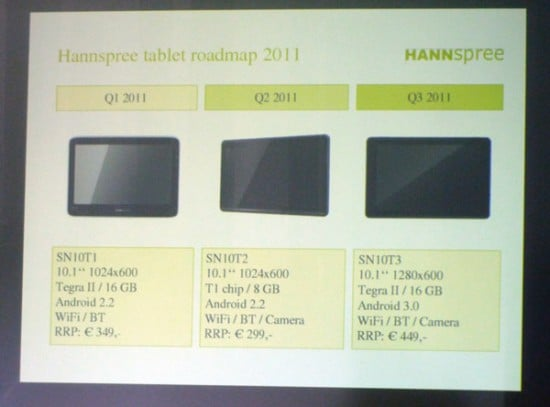 Hannspree zaprezentuje dwa nowe tablety na IFA 2011 18