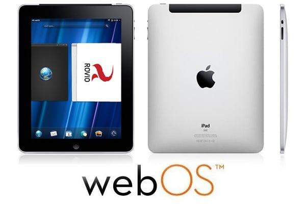 Tabletowo.pl HP testowało system WebOS na... iPadzie Apple Ciekawostki Nowości